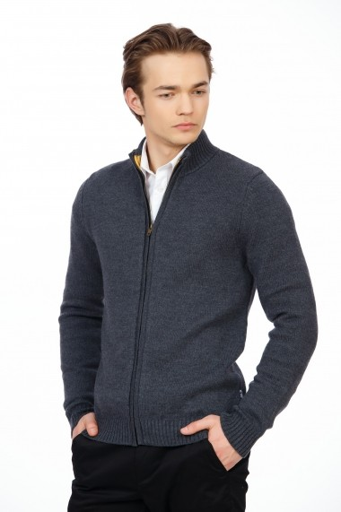 Cardigan Be You 0690 gri melanj