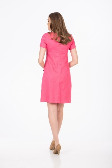 Rochie din in BE YOU 4098 Roz