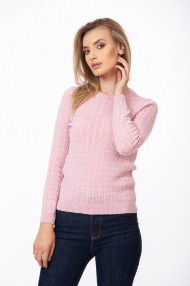 Pulover merino Be You 0836 Roz
