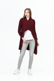 Cardigan Be You 0762 Bordo