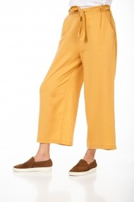 Pantaloni largi BE YOU 3322 Galbeni