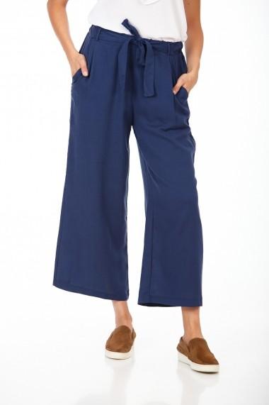 Pantaloni largi BE YOU 3322 Bleumarin