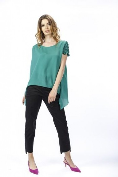 Bluza verde de dama RVL rvl D2727 verde
