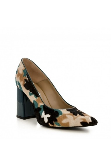 Pantofi cu toc CONDUR by alexandru 1710 multicolor