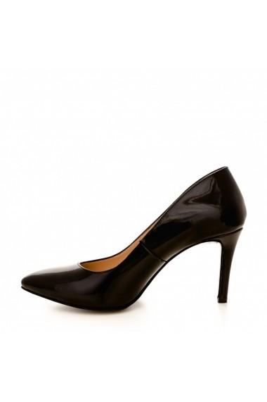 Pantofi cu toc CONDUR by alexandru 1619 negru