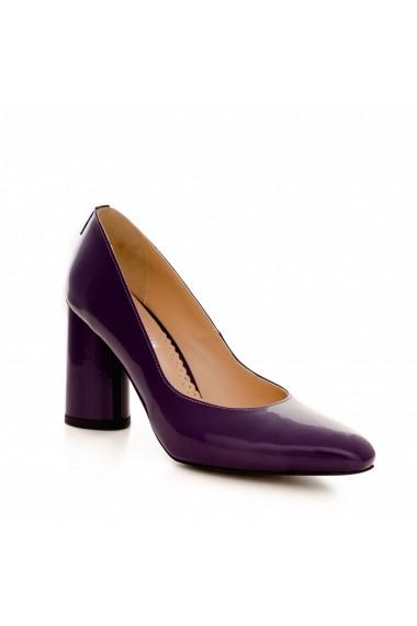 Pantofi cu toc CONDUR by alexandru 1799 mov