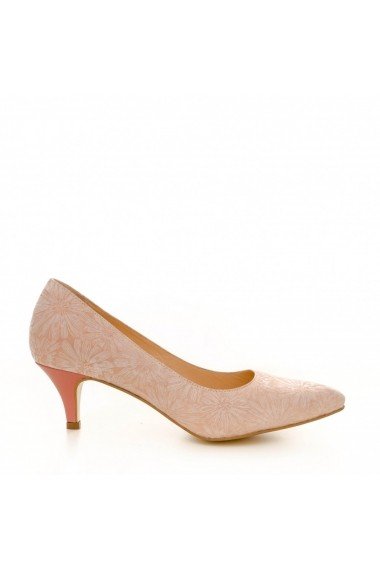 Pantofi cu toc CONDUR by alexandru 1200 nude