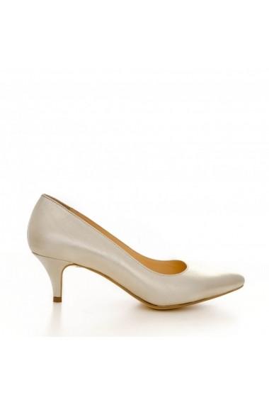 Pantofi cu toc CONDUR by alexandru 1200 auriu