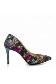 Pantofi cu toc CONDUR by alexandru 1619 multicolor