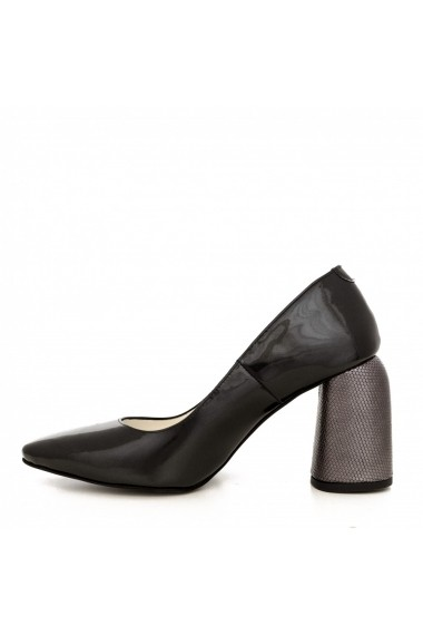 Pantofi cu toc CONDUR by alexandru 1820 gri