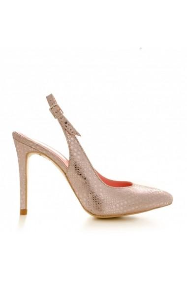 Pantofi cu toc CONDUR by alexandru 1404 rose