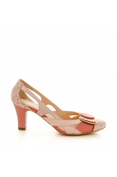Sandale cu toc CONDUR by alexandru 672 nue