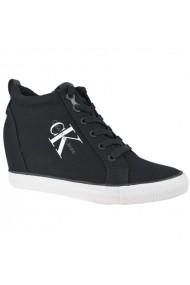 Pantofi sport pentru femei Inny  Calvin Klein Ritzy Canvas W R3551BLK