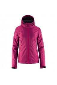 Jacheta pentru femei Outhorn  W HOZ18-KUDN600A fuksja