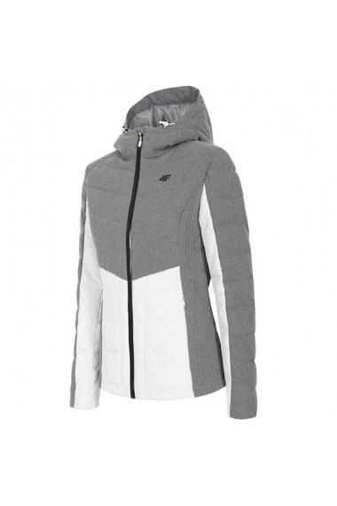 Jacheta sport pentru femei 4f W H4Z18-KUD007 Gri