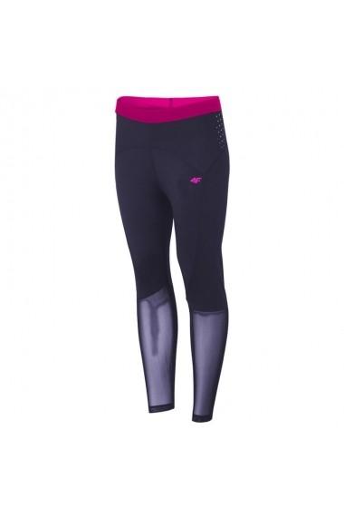Pantaloni sport 4f W H4L19-SPDF002 30S Bleumarin