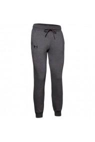 Pantaloni sport pentru femei Under armour  Rival Fleece Graphic W 1348549-010