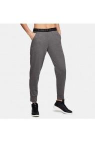 Pantaloni sport pentru femei Under armour  Pla Up Pant Solid W 1311332-090