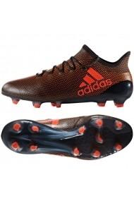 Pantofi sport pentru barbati Adidas  X 17.1 FG M S82288 czarno czerwone