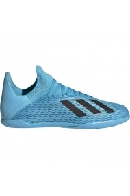 Pantofi sport pentru copii Adidas  X 19.3 IN JR F35354 niebieskie