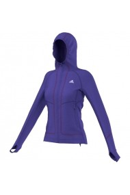 Hanorac sport pentru femei Adidas Terrex Swift Pordoi Hooded Fleece W S09546