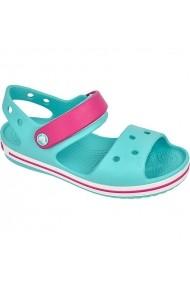 Pantofi sport pentru copii Crocs  Crocband Jr 12856 turkusowo-różowe
