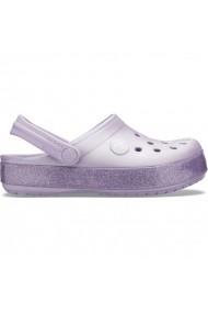 Ghete pentru copii Crocs  Crocband Glitter Clog Jr 205936 530