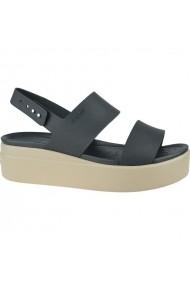 Sandale cu toc pentru femei Crocs Brooklyn Low Wedge W 206453-07H