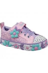 Pantofi sport pentru copii Inny  Skechers Daisy Lites Jr 10965N-PKMT
