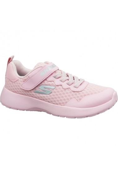 Pantofi sport pentru copii Inny  Skechers Dynamight Jr 81303L-PNK