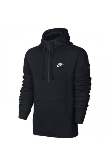 Hanorac pentru barbati Nike  NSW Club Hoodie HZ BB czarna M 812519 010