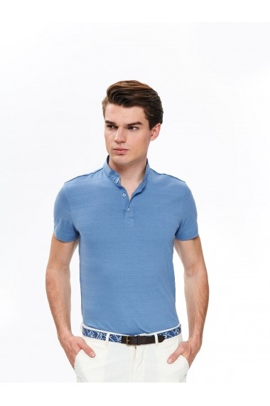 Tricou Polo Top Secret TOP-SKP0484NI Bleu