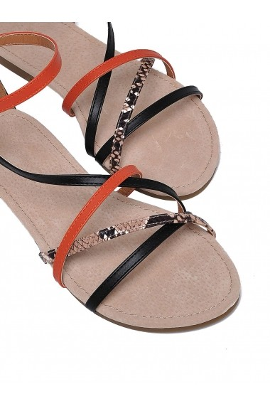 Sandale plate Top Secret TOP-SBU0666PO Portocaliu