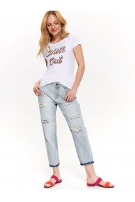 Tricou Top Secret TOP-SPO4034BI Alb