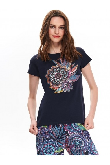 Tricou Top Secret TOP-SPO4201GR Bleumarin