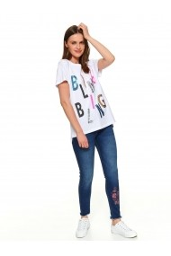 Tricou Top Secret TOP-SPO4356BI Alb