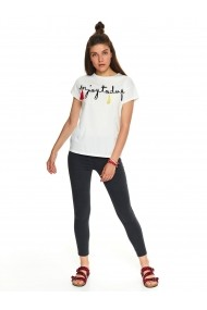 Tricou Top Secret TOP-SPO4378BI Alb