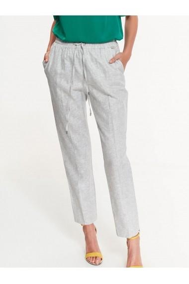 Pantaloni drepti Top Secret TOP-SSP2887BE Bej - els