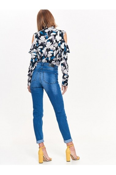 Pantaloni drepti Top Secret TOP-SSP2919NI Albastru