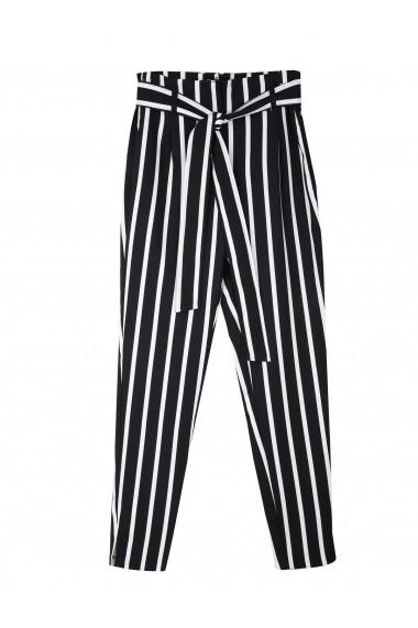 Pantaloni drepti Top Secret TOP-SSP2927CA Negru