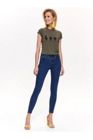 Pantaloni drepti Top Secret TOP-SSP3163GR Bleumarin