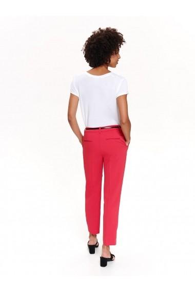Pantaloni drepti Top Secret TOP-SSP3194CR Fuchsia