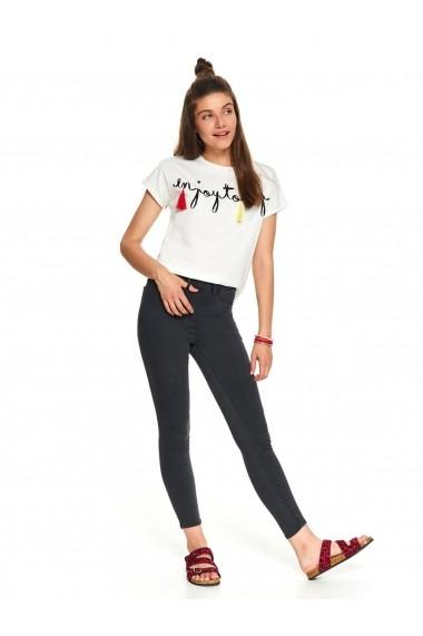 Pantaloni drepti Top Secret TOP-SSP3287SZ Gri