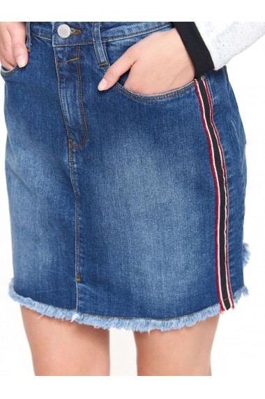 Fusta scurta Troll TOP-TSD0563NI Denim
