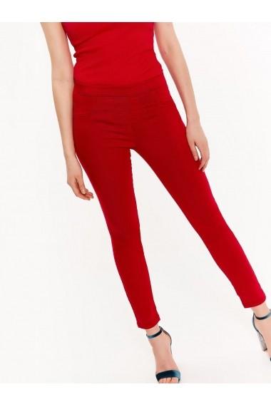 Pantaloni drepti Drywash TOP-DSP0180CE Rosu