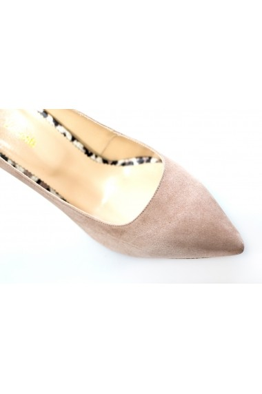 Pantofi cu toc Thea Visconti P-153-19-1253 Bej