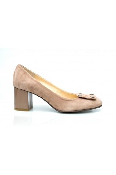Pantofi cu toc Thea Visconti P-154-19-541 Bej