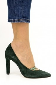 Pantofi Thea Visconti 406-18-949 Verzi