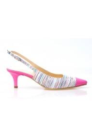 Pantofi cu toc Thea Visconti 279-18-1088 Dungi