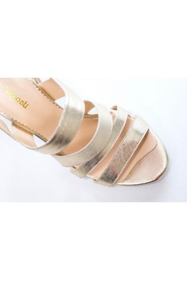 Sandale cu toc Thea Visconti S-311-19-311B Argintiu
